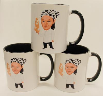 SugaChef with Cake Ceramic Coffee Mug 11oz