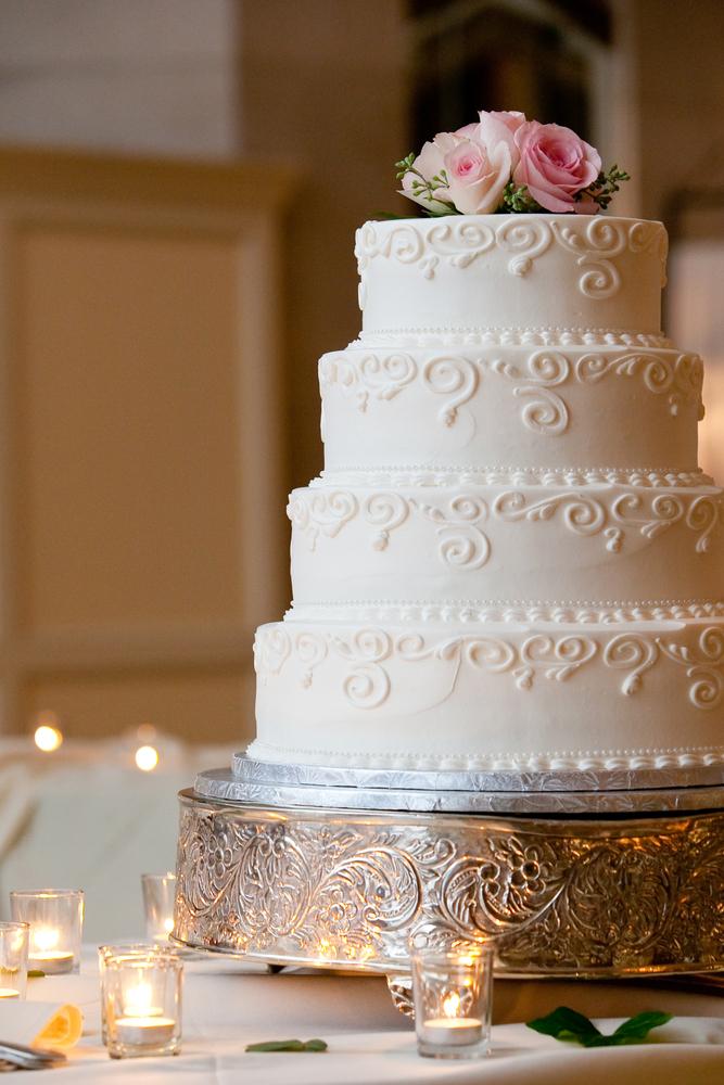 White Silk - Wedding Cake