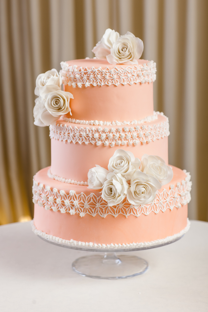 Mandarin Cream - Wedding Cake