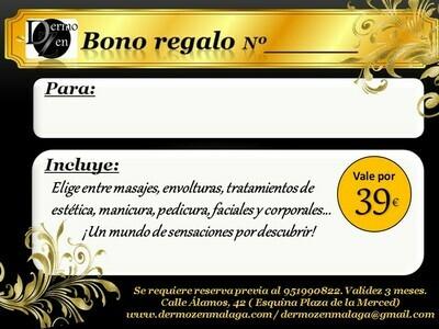BONO REGALO 39 EUROS
