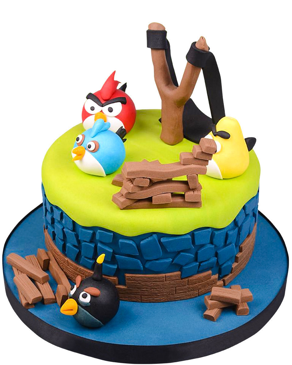 Angry Birds Figur Torte