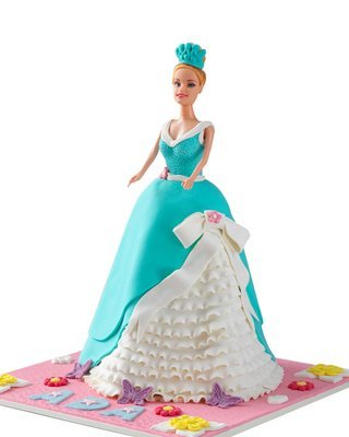 Barbie Figur Torte