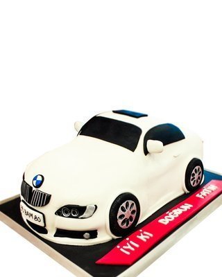 BMW Auto Figur Torte
