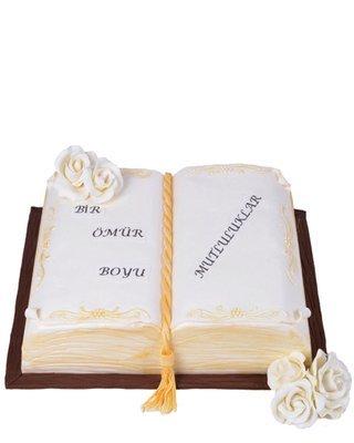 Buch Figur Torte