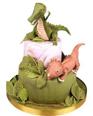 Dinosaurier Figur Torte