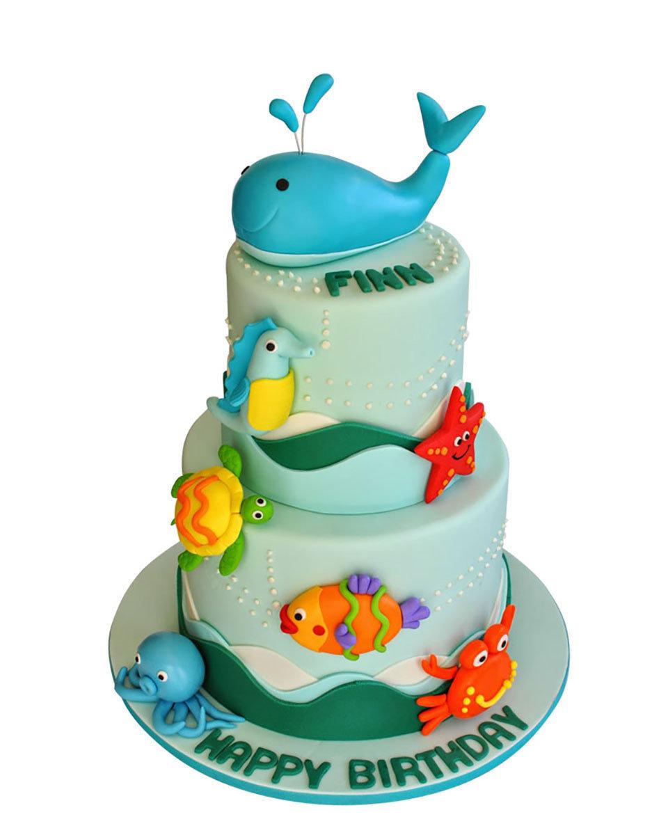 Fisch Figur Torte