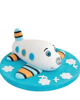 Flugzeug Figur Torte