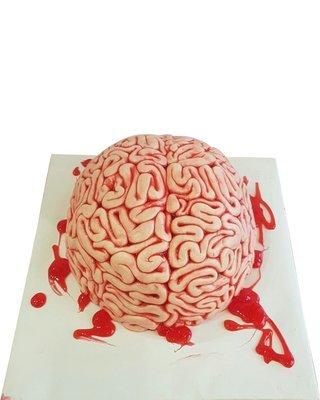 Gehirn Figur Torte