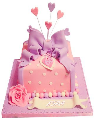 Geschenk Figur Torte