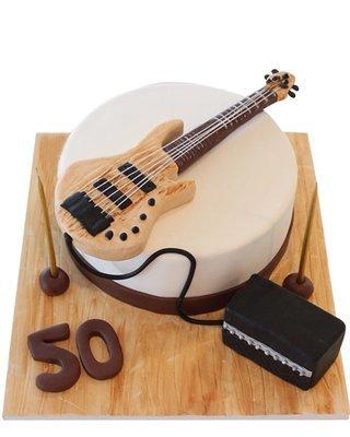 Gitarre Figur Torte