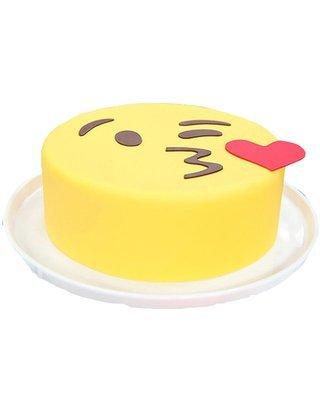 Kiss  Emoji   Figur Torte