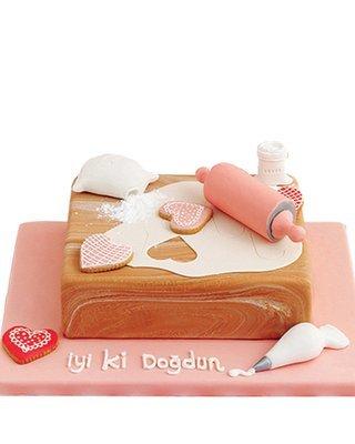 Koch Figur Torte
