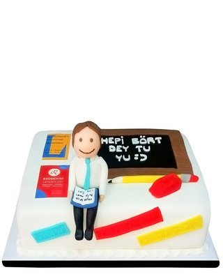 Lehrer Figur Torte