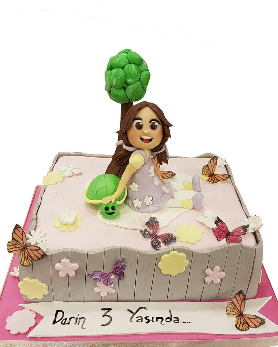 M�_dchen Figur Torte