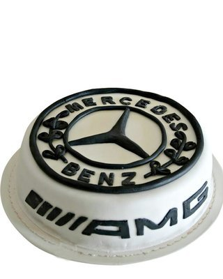 Mercedes Benz Figur Torte