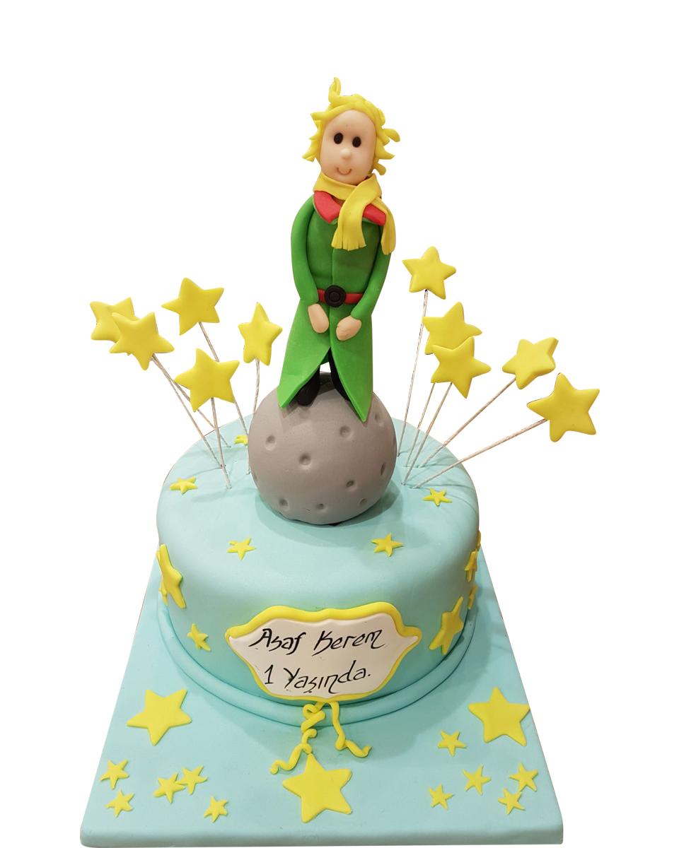 Prinz und Mond Figur Torte