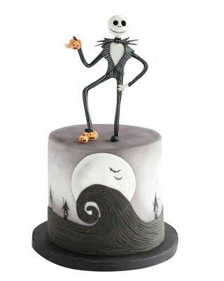 Skelett Figur Torte
