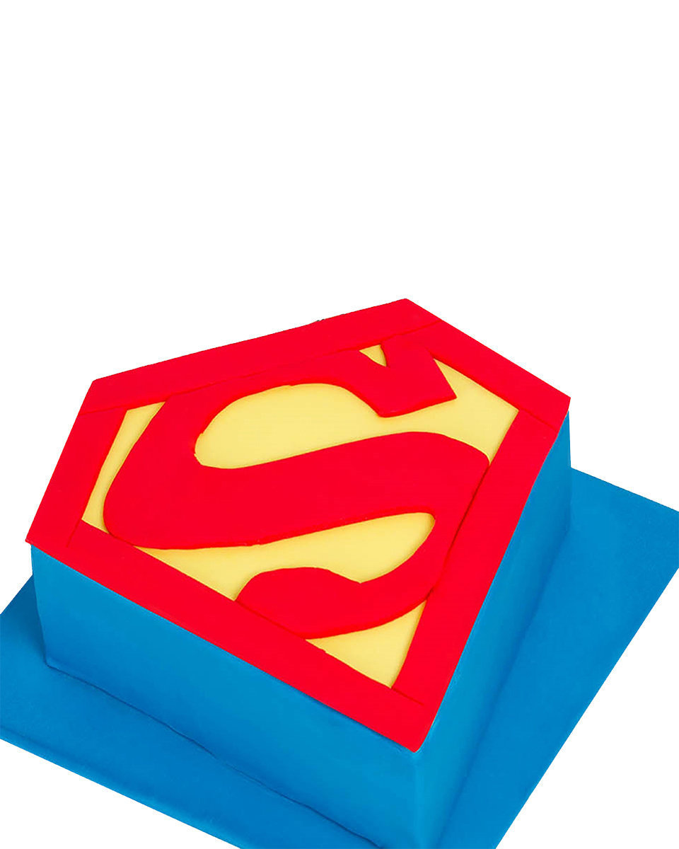 Superman Figur Torte