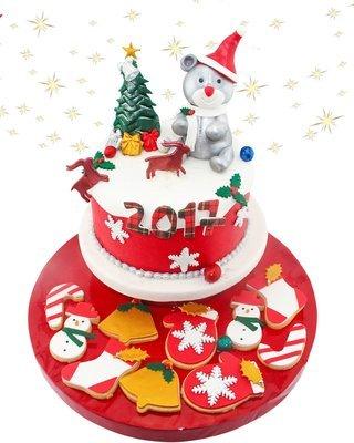 Weihnachten Figur Torte