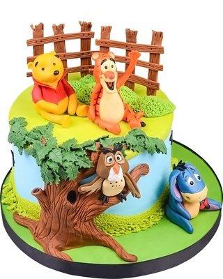 Winnie Puuh & Freunde Figur Torte