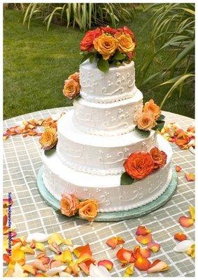 Hochzeitstorte Premium 543