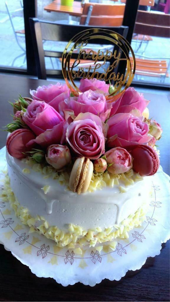 Macarons Torte