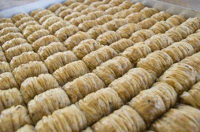 Burma Baklava mit Walnuss 3,5kg Blech