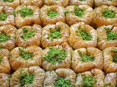 Bülbül Yuvasi Baklava mit Antep Pistazien 3,5kg