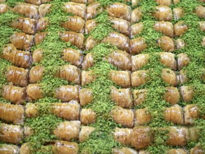 Burma Baklava mit Antep Pistazien 3,5kg Blech