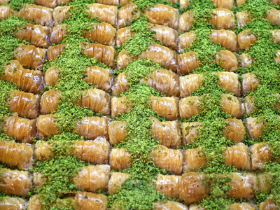 Burma Baklava mit Antep Pistazien 1kg