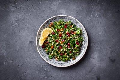 Granatafpel Bulgur Salat