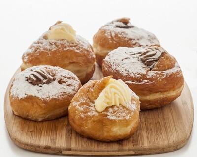 Fresh Round Donuts