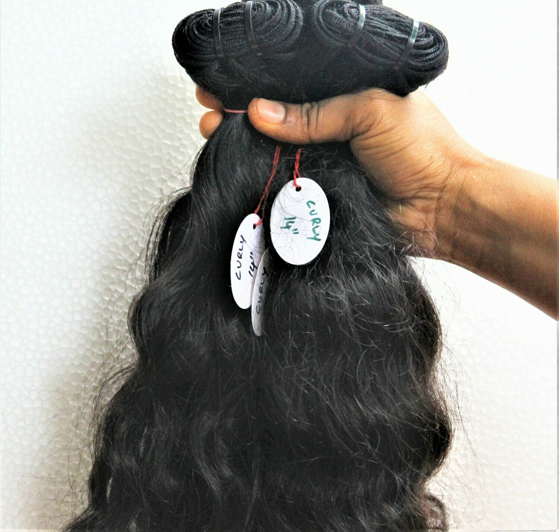 Curly Weft 2 Bundles Deal