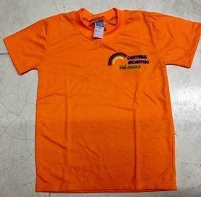 Camiseta normal, longa e regata