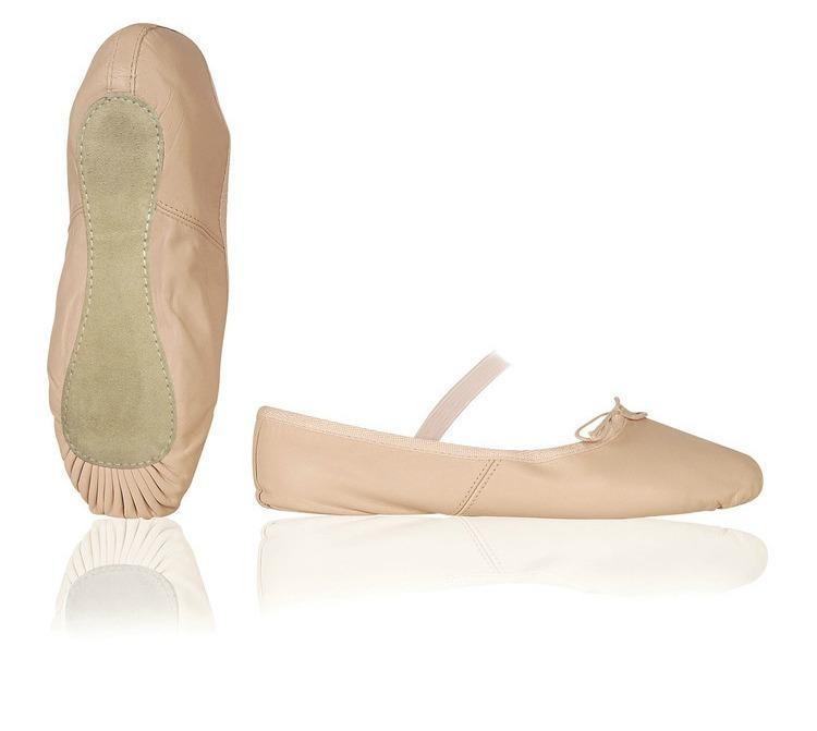 Balletschoentjes (Leer)