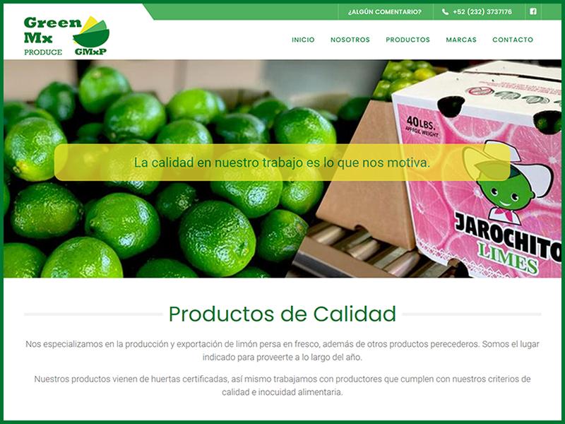 Página Web Comercial