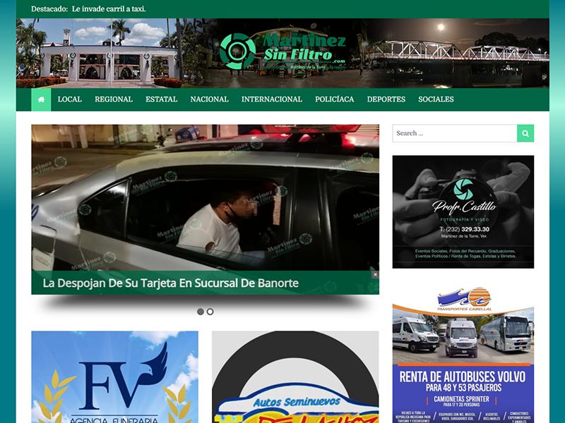 Página Web de Noticias