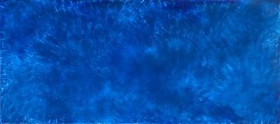 Some Blue Velvet Morning Pond 21.5