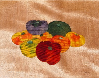 Heirloom Tomatoes Out Of Wood #14