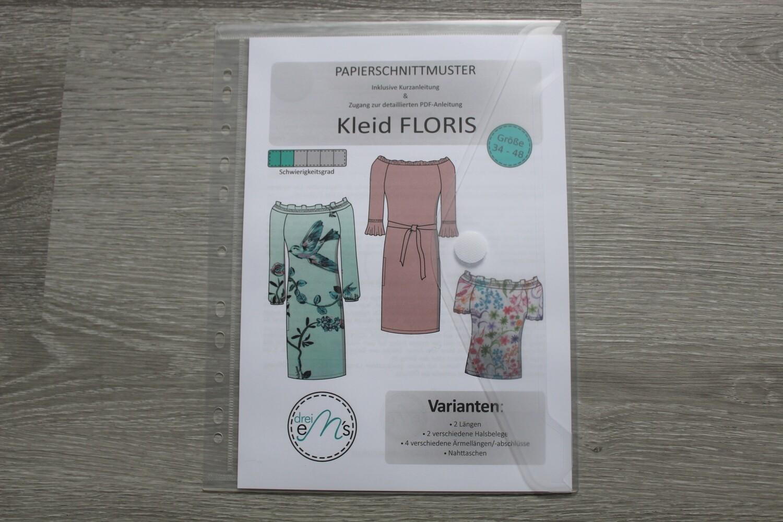Papierschnittmuster Bluse / Kleid FLORIS Gr. 34-48