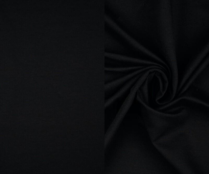 Strickschlauch schwarz Bündchen