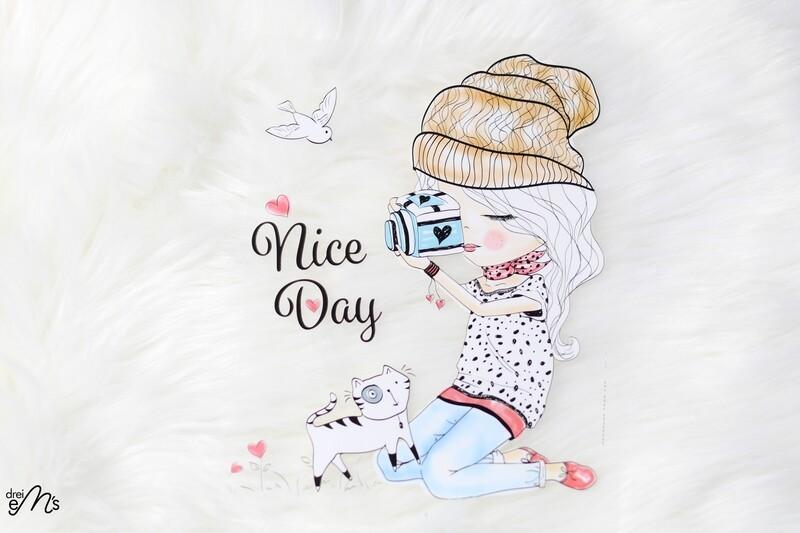 Bügelbild  Nice Day