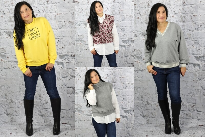 Ebook Sweater/Pullunder SCHENNA Gr. 34-56