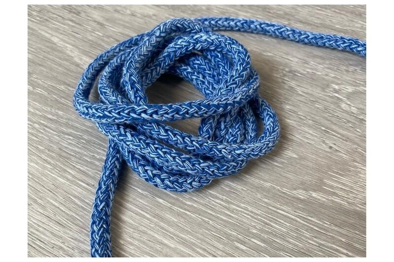 Kordel blau melange 8 mm