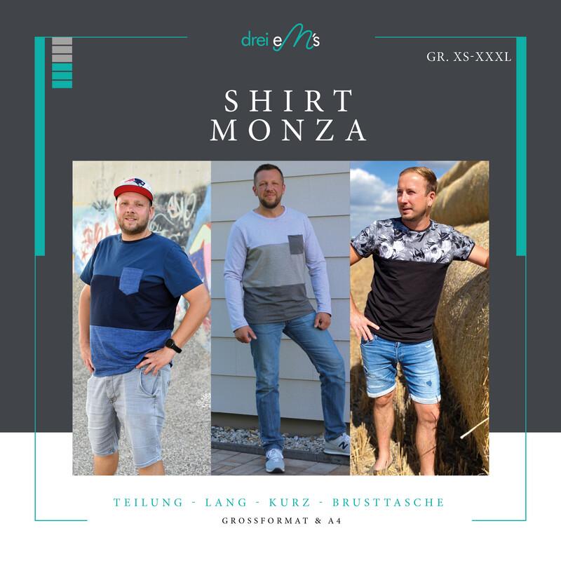 Ebook Shirt MONZA Gr. XS-XXXL