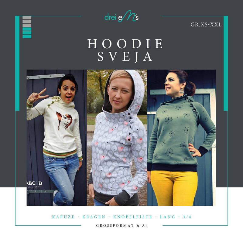 Ebook Hoodie SVEJA XS-XXL