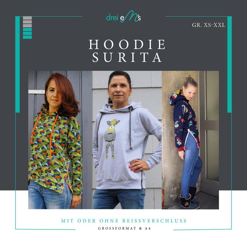 Ebook Hoodie SURITA XS-XXL