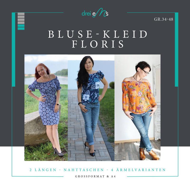 Ebook Bluse / Kleid FLORIS Gr. 34-48