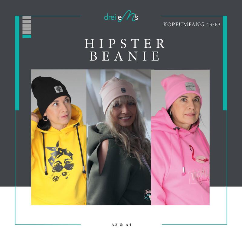 Ebook Hipster Beanie 5 Größen