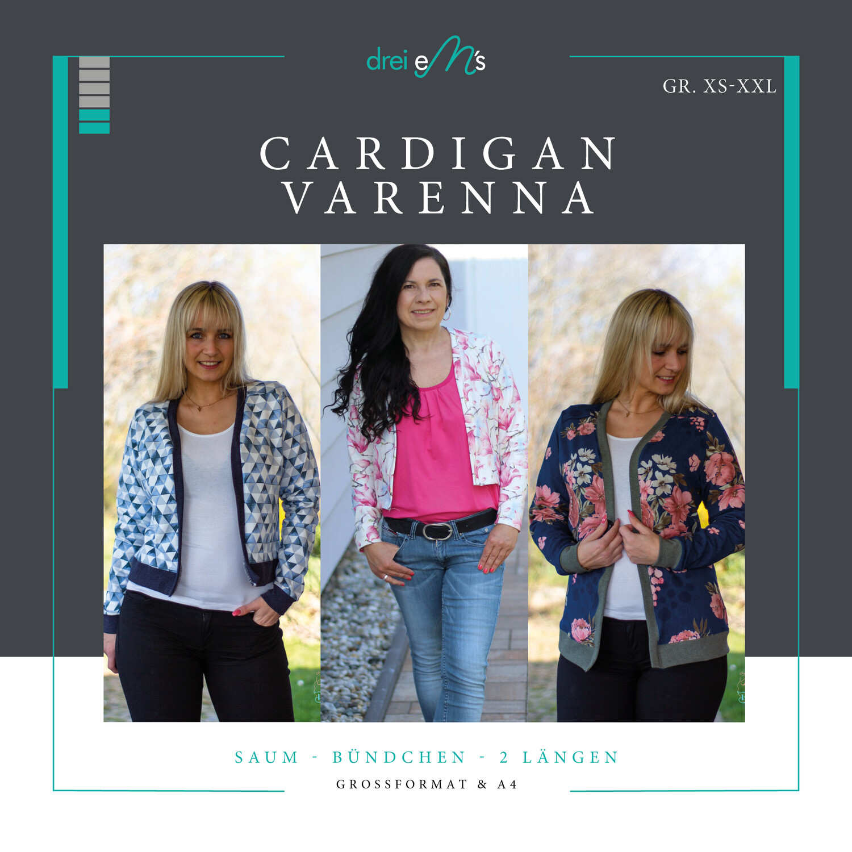 Ebook Cardigan VARENNA Gr. 34-54